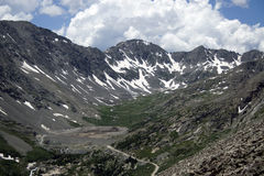 Rocky Mountains In Colorado majestueux Photographie stock libre de droits