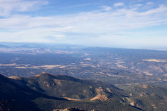 Rocky Mountains in Colorado Royalty Free Stock Images