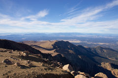 Rocky Mountains in Colorado Stock Image
