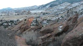 Rocky Mountains dans le Colorado banque de vidéos