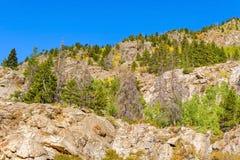 Rocky Mountains dans le Colorado Images libres de droits
