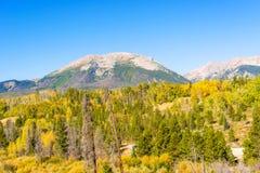 Rocky Mountains dans le Colorado Image stock
