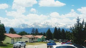 Rocky Mountains in de Lente Royalty-vrije Stock Fotografie