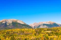 Rocky Mountains em Colorado Fotografia de Stock