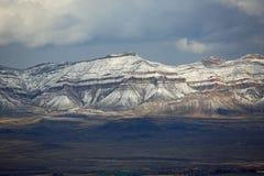 Rocky Mountains en Grand Junction Imagen de archivo