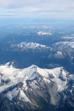Rocky Mountains flight Royalty Free Stock Image