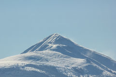 Rocky Mountains-Gipfel Lizenzfreie Stockbilder