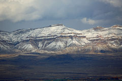 Rocky Mountains in Grand Junction Stockbild