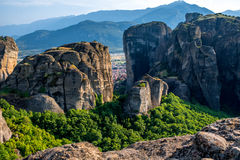 Rocky mountains in Greece Royalty Free Stock Photography