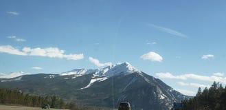 Rocky Mountains h?jdpunkt ?ver arkivbild