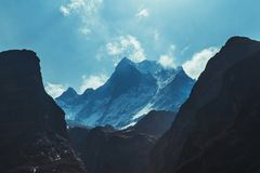 The Rocky Mountains Royalty Free Stock Images