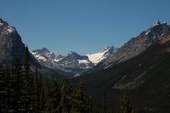 Rocky Mountains i Jasper Alberta Canada Royaltyfri Bild