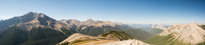 Rocky Mountains in Jasper National Park Royalty Free Stock Photos