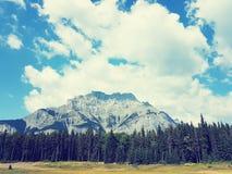 Rocky Mountains in Kanada stockfotografie