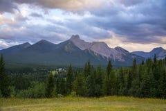 Rocky Mountains. In Kananaskis Country, Alberta, Canada Royalty Free Stock Photo