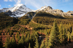 Rocky mountains landscape Royalty Free Stock Image