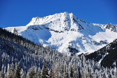 Rocky mountains landscape Royalty Free Stock Images