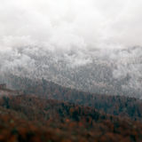 Rocky Mountains Landscape beautiful Caucasus nature Stock Image