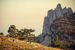 Rocky Mountains Landscape bello Fotografia Stock
