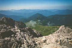 Rocky Mountains Landscape blue sky Summer Travel Royalty Free Stock Photography