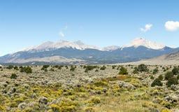 Rocky Mountains meridional etéreo imagenes de archivo