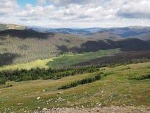 Rocky Mountains National Park en Colorado Foto de archivo