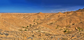 Rocky mountains near Chebika, Sahara Desert, Tunisia, Africa, HD Royalty Free Stock Image