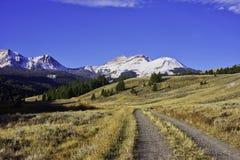 Rocky Mountains Near Lima, Montana photographie stock