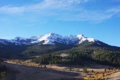 Rocky Mountains Near Lima, Montana photo libre de droits