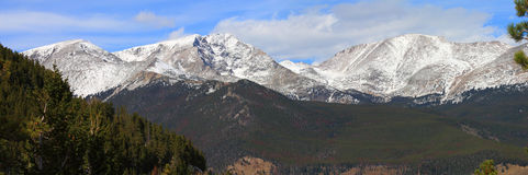 Rocky Mountains Panorama Stock Photography
