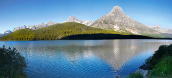 Canadian Rockies Parkway Icefields Lake Banff royalty free stock photos