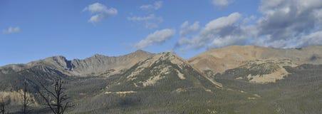 Rocky Mountains Panorama Royalty Free Stock Photos