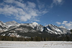Rocky Mountains Range Royalty Free Stock Image