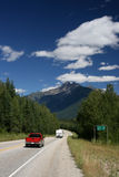 Rocky Mountains road stock photos