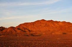 Rocky mountains at sunset Stock Photos