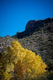 The mountains that surround Sabino Canyon. The rocky mountains that surround Sabino canyon in Tucson, Arizona Stock Photography