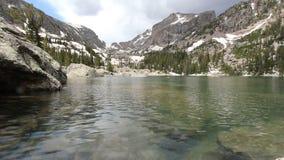 Rocky Mountains, U.S.A. stock footage