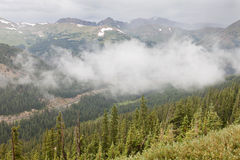 Rocky Mountains valley Stock Photography