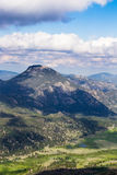 Rocky mountains and valley during summer Royalty Free Stock Photo
