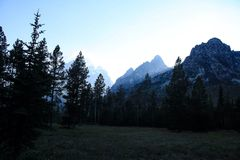 Rocky Mountains, Wyoming Foto de archivo