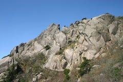Rocky mountainside Royalty Free Stock Image