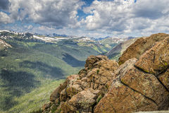 Rocky mountainside Royalty Free Stock Photo