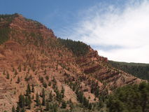 Rocky Moutnain Foothills. A smaller part of the Rocky Mountains in Colorado Stock Images