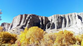 Provo Canyon Cliffs in Autumn Stock Photography