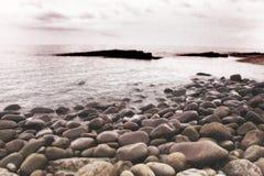 rocky na plaży fotografia royalty free