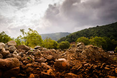 Rocky Natural Landscape Royalty Free Stock Photography