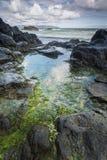 Rocky North Ireland Coastline Landscape Royalty Free Stock Image