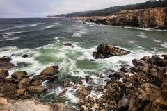 Rocky Northern California Coast Stock Photography