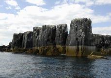 Rocky Northumberland coast Stock Photo