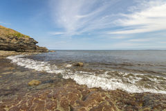 Rocky Ocean Beach Lizenzfreie Stockfotografie